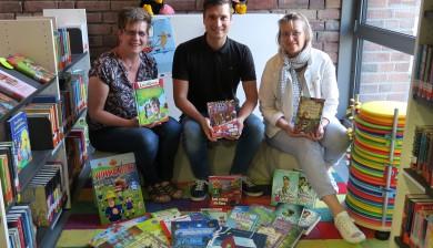 Gutes Beginnt im Kleinen Bücherspende für die KÖB Neersen
